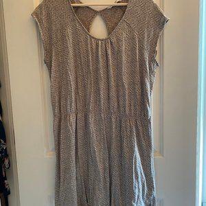 Woolrich Grey & White Dress Large